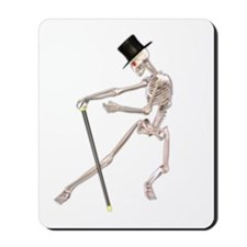The Dancing Skeleton Mousepad