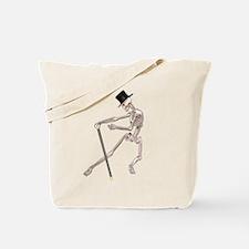 The Dancing Skeleton Tote Bag