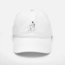 The Dancing Skeleton Baseball Baseball Cap