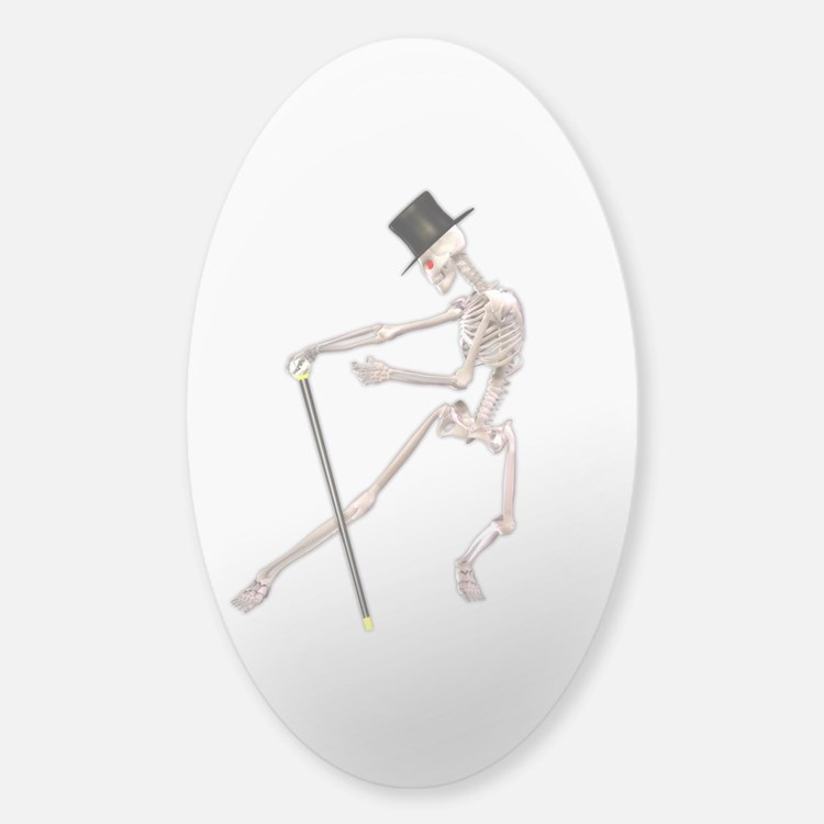 The Dancing Skeleton Decal