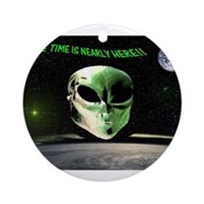 Jmcks There Time IS Nearly He Ornament (Round)