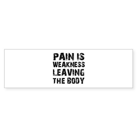 Cool fitness design Sticker (Bumper)
