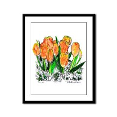 Tulips by RD Riccoboni Framed Panel Print