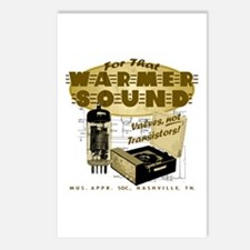 Valve Amplifier Postcards (Package of 8)