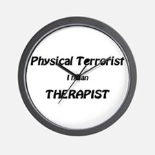 Unique Physical therapy Wall Clock