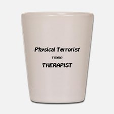 Unique Physical therapy Shot Glass