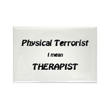 Cute Physical therapy Rectangle Magnet (10 pack)