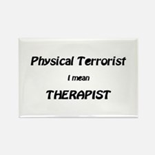 Unique Physical therapy Rectangle Magnet (10 pack)