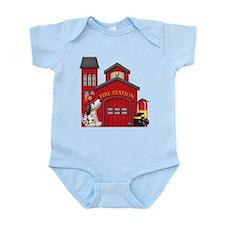 Fireman Infant Bodysuit