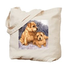 Norfolk Terrier Pair Tote Bag