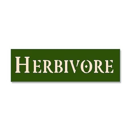 Herbivore Car Magnet 10 x 3