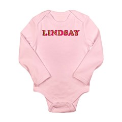 Lindsay Long Sleeve Infant Bodysuit