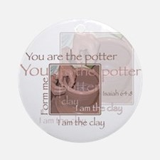 The Potter Ornament (Round)