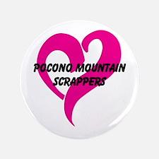 """Pocono Mountain Scrappers 3.5"""" Button"""