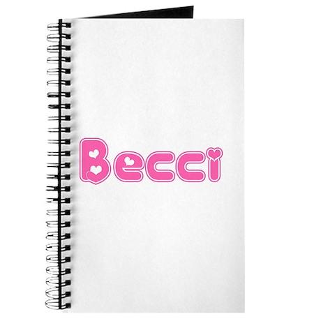 """Becci"" Journal"