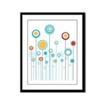 FLORAL DECOR Framed Panel Print