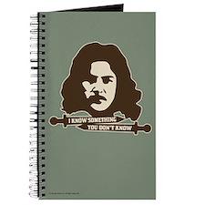 Inigo Montoya Knows Something Journal
