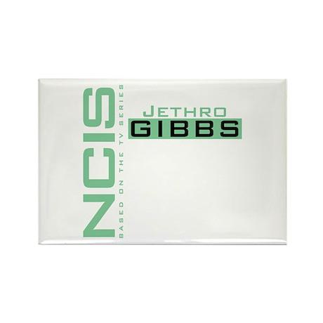 NCIS Jethro Gibbs Rectangle Magnet (100 pack)