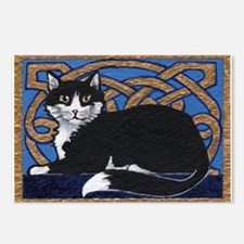 Celtic Kitty Postcards (Package of 8)