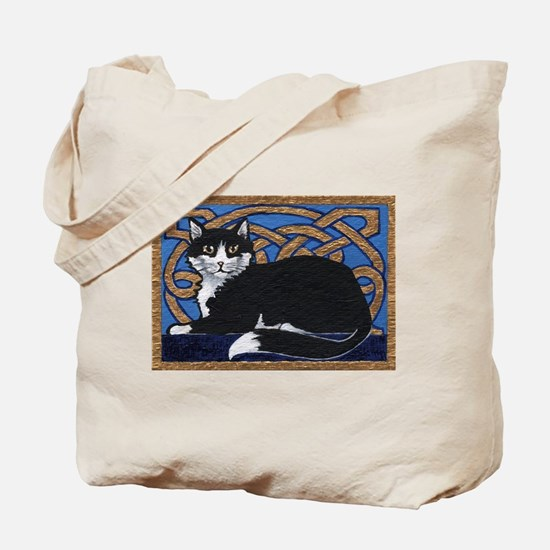 Celtic Kitty Tote Bag