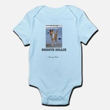 Cute Smooth collie Infant Bodysuit