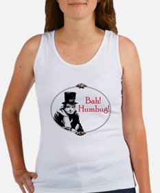 Funny Scrooge Quote Women's Tank Top