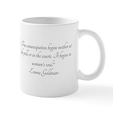 Emma Goldman Woman's Soul quo Mug