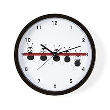 Eeek!! Wall Clock
