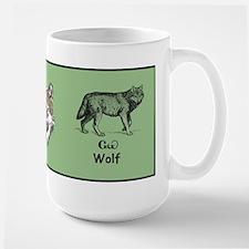 Young Cherokee Wolf Mug