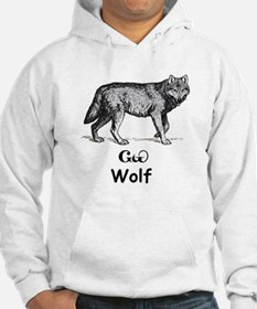 Young Cherokee Wolf Hoodie