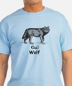 Young Cherokee Wolf T-Shirt