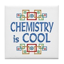 Chemistry is Cool Tile Coaster