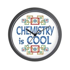 Chemistry is Cool Wall Clock