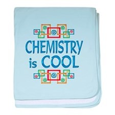 Chemistry is Cool baby blanket