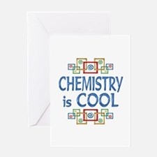 Chemistry is Cool Greeting Card