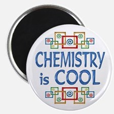 "Chemistry is Cool 2.25"" Magnet (10 pack)"