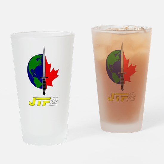 Joint Task Force 2 - Silver Drinking Glass