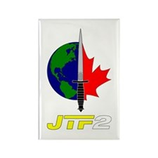 Joint Task Force 2 - Silver Rectangle Magnet