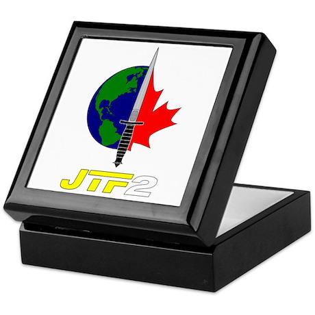 Joint Task Force 2 - Silver Keepsake Box