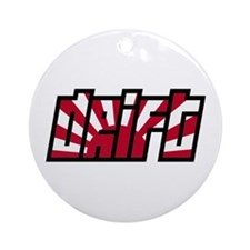 Drift Drifting JDM Japan Race Car Ornament (Round)