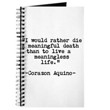 Meaningful Life QUOTE Journal