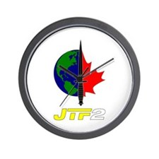 Joint Task Force 2 - Blk Wall Clock