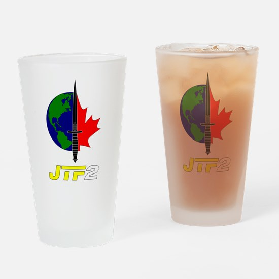Joint Task Force 2 - Blk Drinking Glass