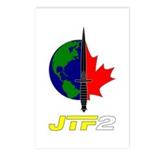 Joint Task Force 2 - Blk Postcards (Package of 8)