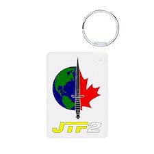 Joint Task Force 2 - Blk Aluminum Photo Keychain