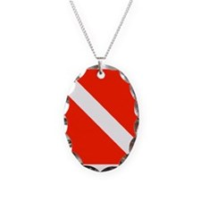 Scuba Dive Flag Necklace
