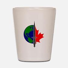 Joint Task Force 2 logo -Blk Shot Glass