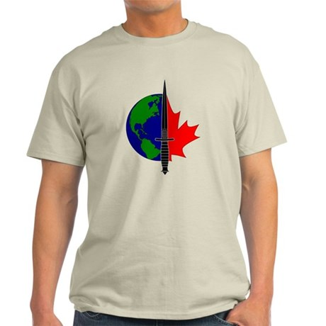 Joint Task Force 2 logo -Blk Light T-Shirt