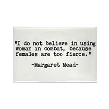 Women are Fierce QUOTE Rectangle Magnet