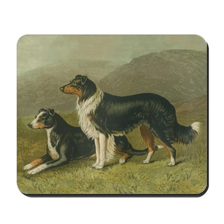 Sheepdog Mousepad